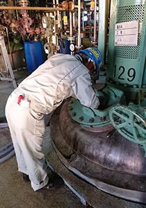 強み3 硫黄化合物を安全かつ衛生的に取扱うノウハウを保有